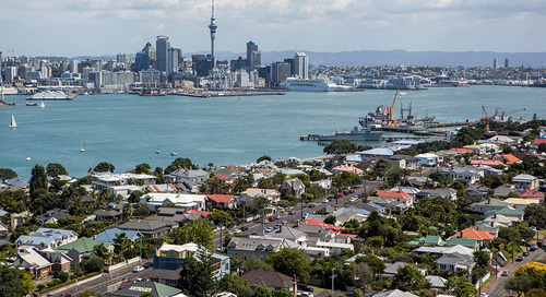 The four seasons of Auckland