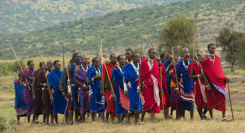 The story behind the Maasai jumping dance
