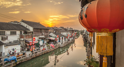 A day in Suzhou, China