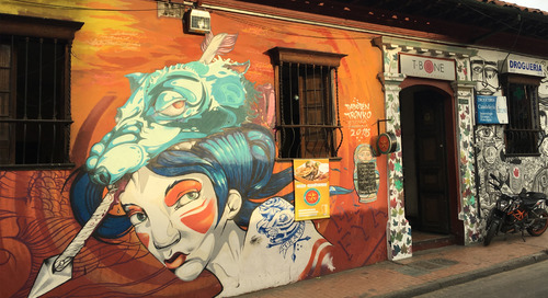 The Beauty of Bogotá's Street Art