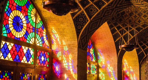 A photo tour of Iran's mosques