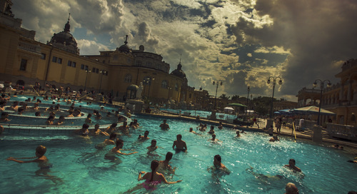 Discover the baths of Budapest