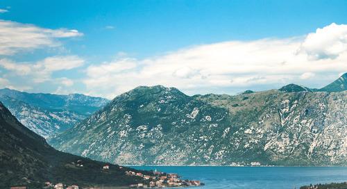 Day hiking around Kotor, Montenegro