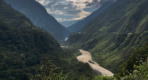 Taking the bike path less travelled in Ecuador