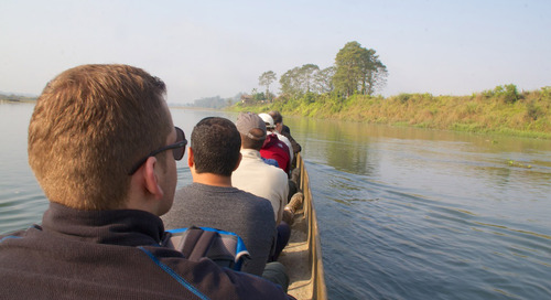Into the wild: Tracking animals in Nepal's Chitwan National Park