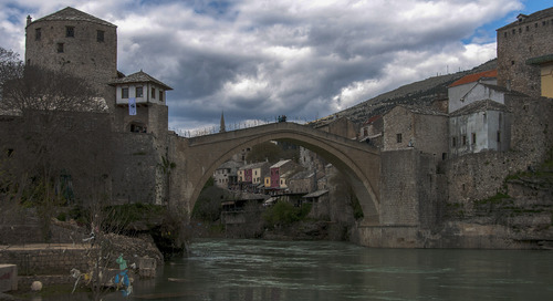 Tracing the scars of Mostar, Bosnia