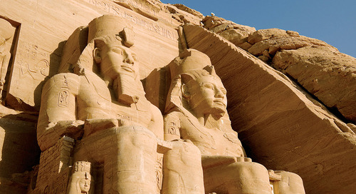 Moving temple: Abu Simbel in Egypt