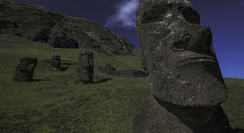 Meet Tukuturi, an Easter Island statue that looks nothing like the rest