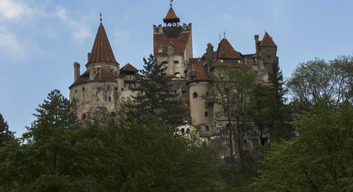 Transylvania's Bran Castle — a.k.a. Dracula's Castle — by the numbers