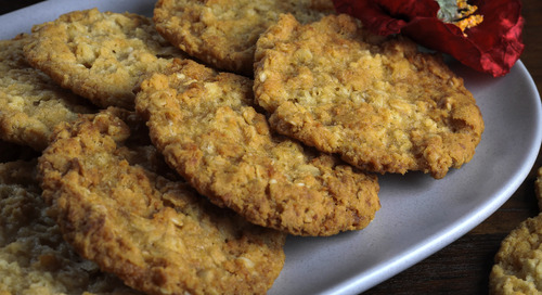What's an Anzac biscuit?