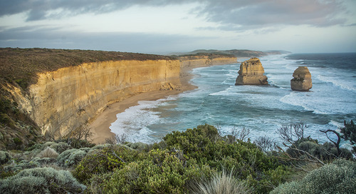 The Great Ocean Road, Australia's most scenic drive, is also the world's longest war memorial