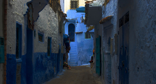 """Why is Chefchaouen, Morocco's """"blue city"""", so, well, blue?"""