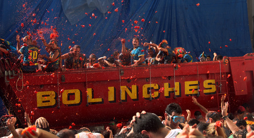 La Tomatina festival: By the numbers