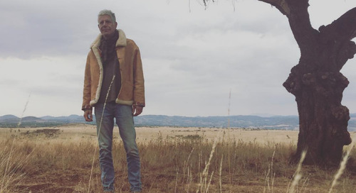 Anthony Bourdain saw the world as a work in progress