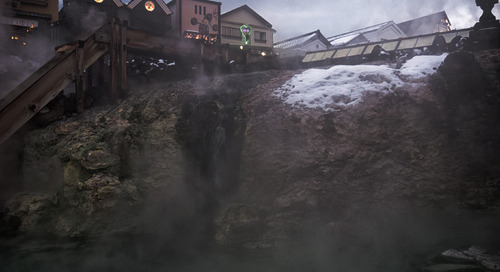 The brilliantly bizarre Kusatsu, about two hours from Tokyo, is worth the detour