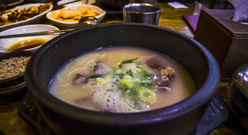 The best soup in Seoul
