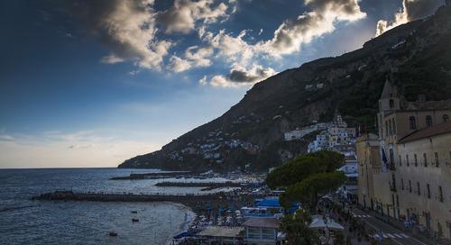 Learning self-kindness on the Amalfi Coast