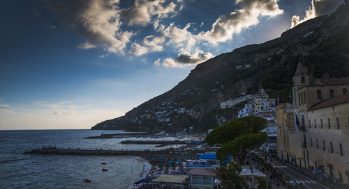 Learning self-kindness on the Amalfi Coast