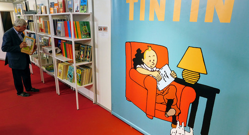 Celebrating Tintin with Belgian beer in Brussels