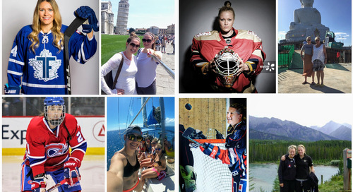 4 women's hockey stars who double as world-class travellers