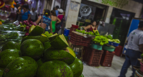 Traveller's depression is real. Could a trip to the local market be the cure?