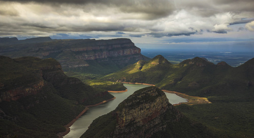 Don't sleep on the Blyde River Canyon