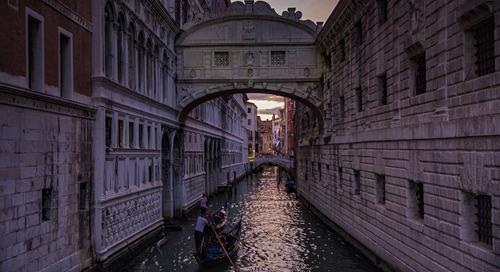 The ABCs of: Gondolas in Venice