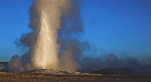 The ABCs of: Old Faithful in Yellowstone National Park