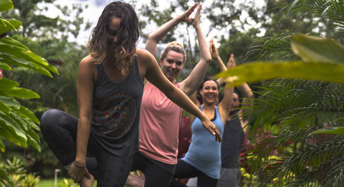 Redefining what a 'wellness retreat' looks like