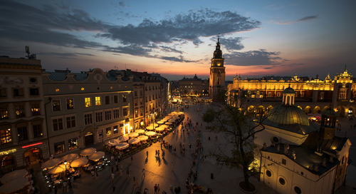 "Exploring Poland's ""second cities"""