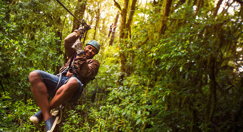 Top 4 adrenaline-boosting activities in Costa Rica