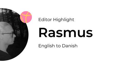 Editor Highlight: Rasmus