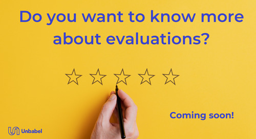 """Join the online event """"The evaluation experience"""""""