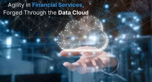 Agility in Financial Services, Forged Through the Data Cloud
