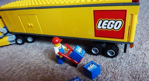 How to pack assembled LEGO sets for moving