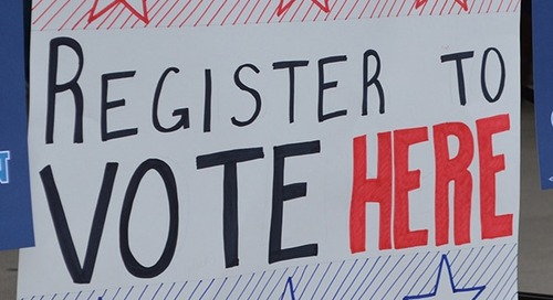 How to change voter registration after moving