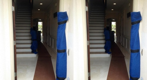 How to protect doors and door frames during a move