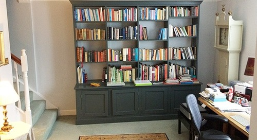 How to pack a bookcase for moving