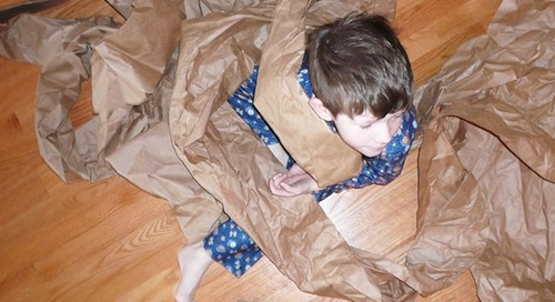 What to do with packing paper after a move