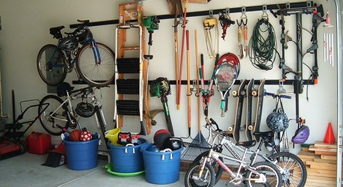 How to pack a garage for moving