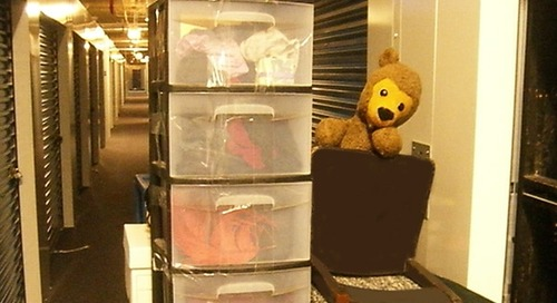 What to put in storage when moving