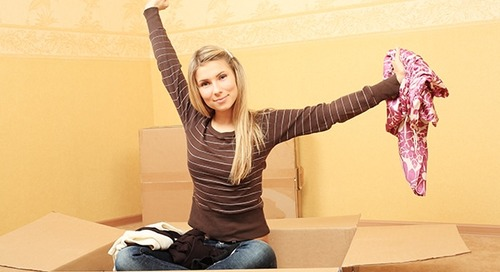How to pack to save space when moving