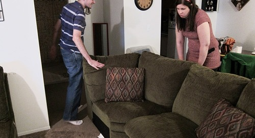 How to use furniture sliders to move furniture and appliances