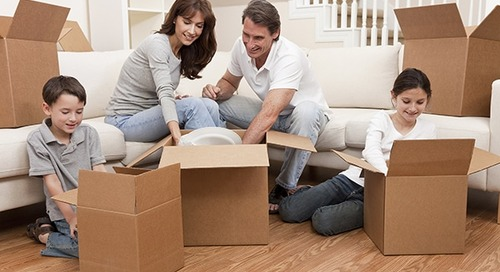 How to pack a house with children around