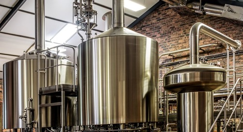 Water filtration: a key component in brewing beer.