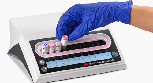 New 4-hour rapid readout biological indicator for vapourized hydrogen peroxide sterilization.