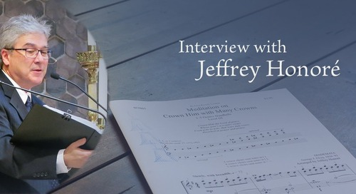 Interview with Jeffrey Honoré