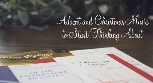 Advent and Christmas Music to Start Thinking About