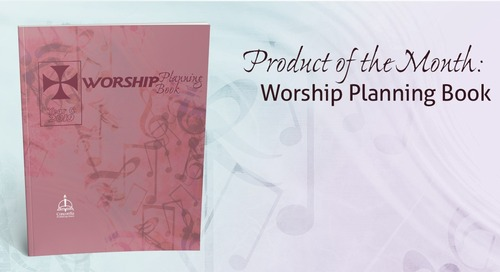 Product of the Month: Worship Planning Book