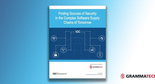 VDC Research Study Finds Only Half of IoT Projects are Testing for Software Security
